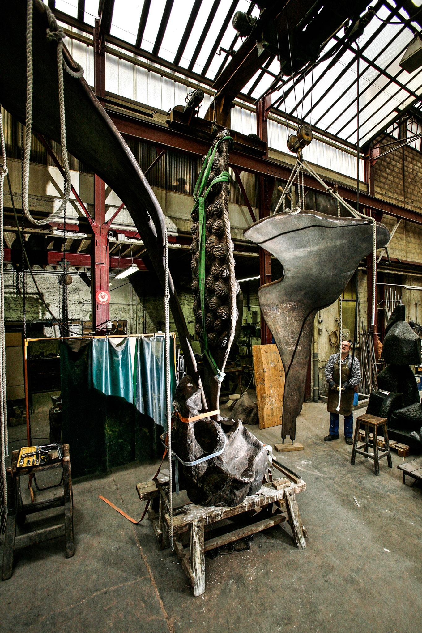 fonderie_susse_bronze_sculture_atelier_savoir_faire_art_manolo _mylonas_